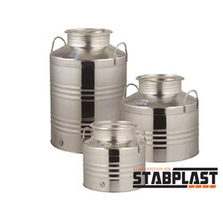 Stainless steel container with a screw cap